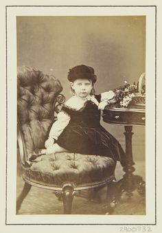 Princess Charlotte, daughter of the Crown Prince and Crown Princess of Prussia, Windsor 1863 [in Portraits of Royal Children Vol.7 1863-1864] | Royal Collection Trust