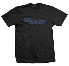 Military Black Beauty #4 - Sig Sauer T-shirt