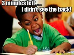 Don't we all love those exams!? ;)