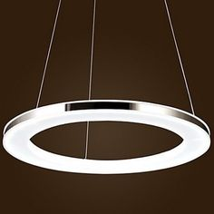 279.99$  Watch now - http://ali611.worldwells.pw/go.php?t=32315637385 - 70CM Acryl Modern LED Pendant Lighting Lamp For Dinning Room Living Room,Lustres e PendenteS Sala Teto Lamparas,Bulb Included