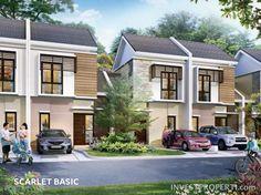 Rumah Burgundy Residence Summarecon Bekasi Tipe Scarlet Basic