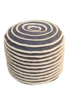 Cinnabun Anyone?  Delicious, divine & delovely.  Cinnabun Pouf by nuLOOM on Gilt Home  $129