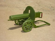 Maxim gun wooden toy on a scale 1/15 Игрушка Пулемёт