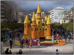 Every year, the French town of Menton hosts an event unique in the world, La Fete de Citron, translated – the Lemon Festival.