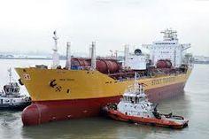 Chemical tanker ship -