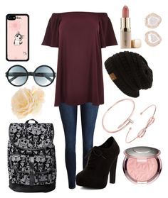 """""""Gnéè #37 💘"""" by jennifer-sgt ❤ liked on Polyvore featuring Disney, River Island, New Look, Tom Ford, Accessorize, Cartier, Kimberly McDonald, Ted Baker, Jouer and plus size dresses"""