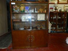 Teak, Glass Top, Oval Coffee Tables, Furniture, Vintage, Cabinet, Vintage Furniture, Home Decor, Furniture Sale