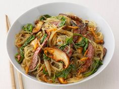 Get this all-star, easy-to-follow Korean Beef Noodles recipe from Food Network Kitchen