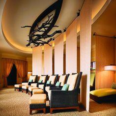 The ladies and gentleman's relaxation area at Lantana spa, JW Marriott San Antonio #jwlantanaspa #jwsanantonio #spa #couples #luxury