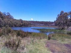 Lake in the Victorian high country, Australia
