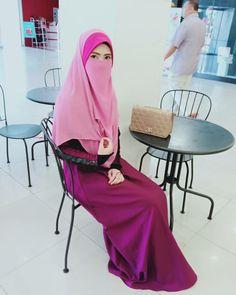 Beautiful Hijab, Niqab, Hijab Fashion, Elegant, Model, Beauty, Classy, Chic