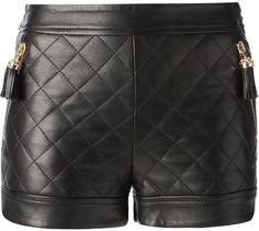 Moschino quilted shorts