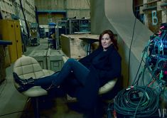 Kathleen Kennedy, president of Lucasfilm, photographed at Pinewood Studios in Buckinghamshire, England. Photograph by Annie Leibovitz for Vanity Fair.