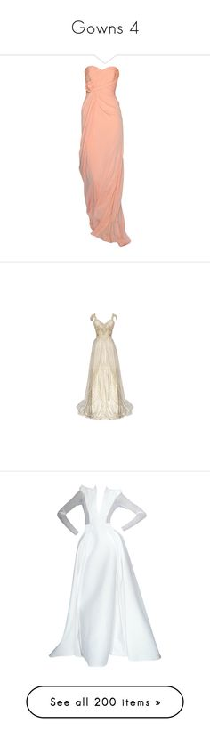"""""""Gowns 4"""" by jellymae ❤ liked on Polyvore featuring dresses, gowns, 13. dresses., edited, badgley mischka, badgley mischka evening gowns, badgley mischka gowns, red ball gown, red evening gowns and vestidos"""