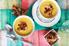 #SlowCooker Indian Curried Cauliflower Soup