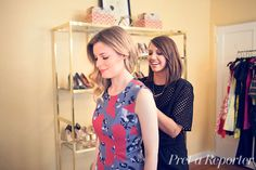 Dynamic Duo: 'Community's' Gillian Jacobs and Stylist Caley Rinker Prep for Comic-Con   Pret-a-Reporter   Caley Rinker
