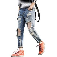 (32.30$)  Buy here  - 2016 new arrived World Famous Brand Men Jeans Fashion Designer mens skinny pants men straight Jeans casual mens patch beggars