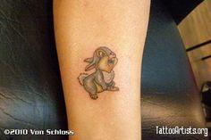 disney tattoos | Disney Thumper the rabbit / bunny Tattoo - Tattoo Artists.org