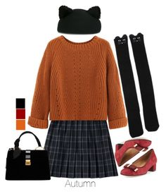 """""""AUTUMN IS HEEERE"""" by pastel-bear on Polyvore featuring Sesto Meucci, Eugenia Kim and Miu Miu"""