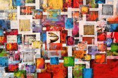 Artwork >> Joan Llaverias >> Dispersions GEOMETRICA 4943 #artwork, #masterpiece, #painting, #contemporary, #art