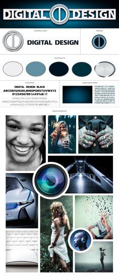 """Check out my @Behance project: """"Digital Design Style Board"""" https://www.behance.net/gallery/50815521/Digital-Design-Style-Board"""