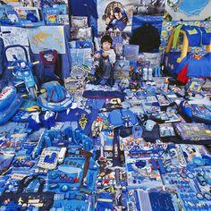 All things Blue by JeongMee Yoon...