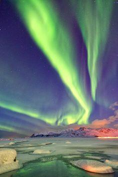 Aurora Borealis in Alaska / B.