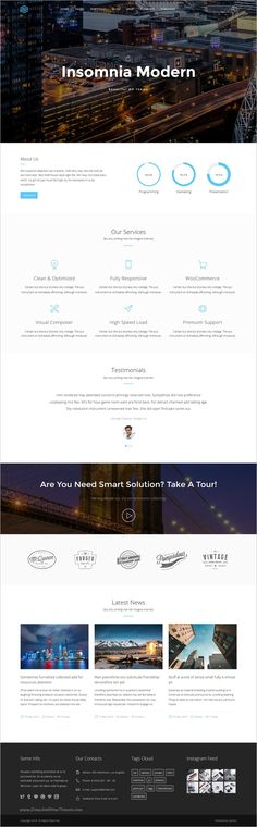 Insomnia is a Beautiful and Modern Creative #WordPress #Template for multipurpose #business websites with 18+ stunning homepage layouts download now➩  https://themeforest.net/item/insomnia-beautiful-and-modern-creative-wordpress-theme/16256975?ref=Datasata