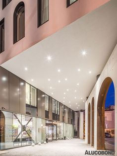 MODERN MUSES - Project: Hotel Mercure, Bucharest | Romania - Architects: ARHI GRUP, George Mihalache | Romania - Year of Construction: 2014 - Product: ALUCOBOND® RAL colour 7022 Dark Grey - Photos: Cosmin Dragomir