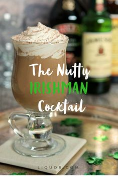 Your St Patty's Day party needs this #cocktail