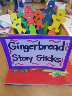 Gingerbread Story Sticks