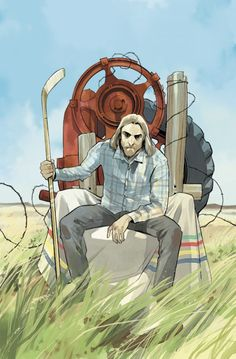When Fiona Staples Draws Grass Kings Covers – And So Does Matt Kindt!