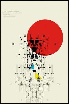 spacializer - poster - portfolio of empk, art direction and graphic design