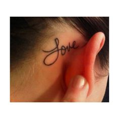 EAR Tattoo found on Polyvore
