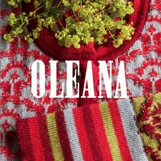 "OLEANA Collection Catalogue Cover ""2011/12"""