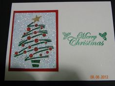 Christmas Cards one of five made 2012