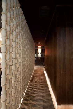 Japanese Stoneware Wall Screens - contemporary - screens and wall dividers - new york - by Alchemy Materials Partition Screen, Divider Screen, Bamboo Screening, Corridor Design, Decorative Screens, Floor Ceiling, Melbourne, Sydney, Wall Patterns