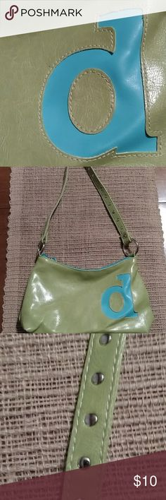 a/d Purse So, I bought thinking this was a lower case 'a'. Brought home and my husband laughed so hard at me for buying a purse with a 'd' on it. I think it's still debateable. 😆 Either way, super cute! Mixit Bags Mini Bags