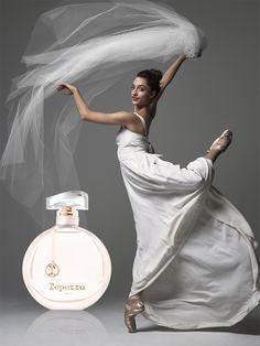 Dorothée Gilbert, la danseuse étoile de l'Opéra de Paris est l'égérie du premier parfum Repetto