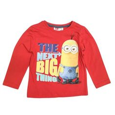 The Next Big Thing Minions Red Long Sleeved T-shirt
