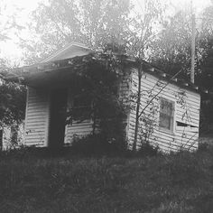 Really cool, really small abandoned old house.