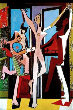 Pablo Picasso - The Three Dancers, 1925 Succession Picasso/DACS 2017