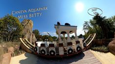Caneva Aquapark Miss Betty 360° VR POV Onride Vr