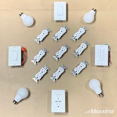 Everyday electrical utilities we need to keep the house running, from outlets to switches to LED light bulbs!