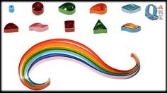 How to make basic quilling shapes   Tutorial for beginners