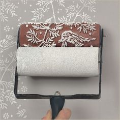 patterned paint roller, love it!