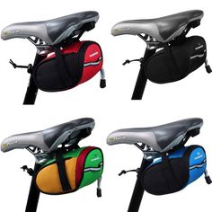 Outdoor Cycling Bike Bicycle Saddle Bag Back Seat Tail Pouch Package