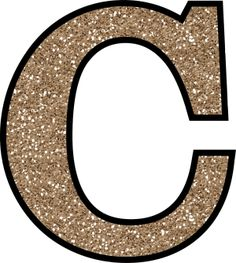 This set of free printable letters from A - Z (inc Ñ) have a glitter pattern and will add some glittery shine to your next craft project.: Glitter Letter C To Print Alphabet Letters To Print, Printable Letters, Alphabet And Numbers, Monogram Letters, Glitter Letters, Glitter Cardstock, Glitter Vinyl, Crop Tops, Free Printables