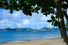Nevis St Kitts And Nevis, Saints, Sisters, Island, Beach, Water, Places, Outdoor, Gripe Water