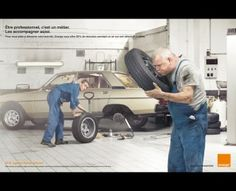 car mechanic with some comedy in it.